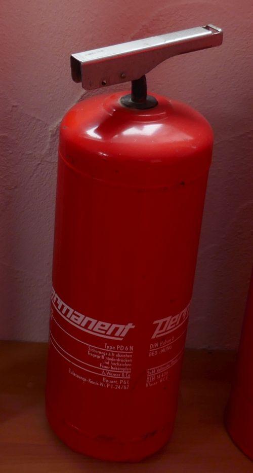 Feuerlöscher Wintrich