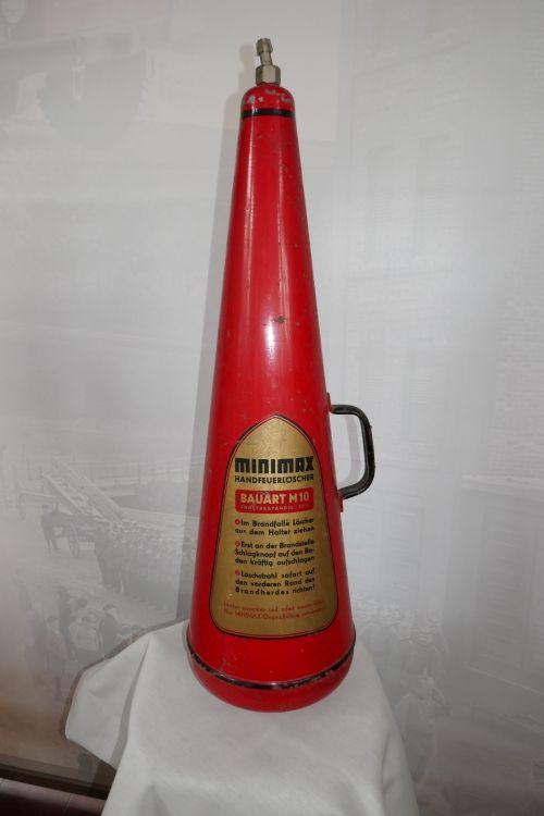 Minimax Feuerlöscher Bauart M 10